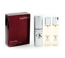 Euphoria (Calvin Klein) Twist & Spray 3х20ml women