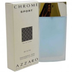 "Chrome Sport MEN ""Azzaro"" 100ml ТЕСТЕР"
